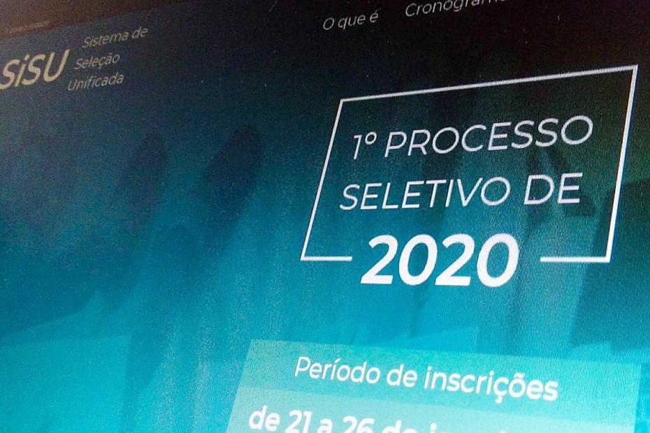 MEC divulga novas datas para inscrição no Sisu do segundo semestre de 2020