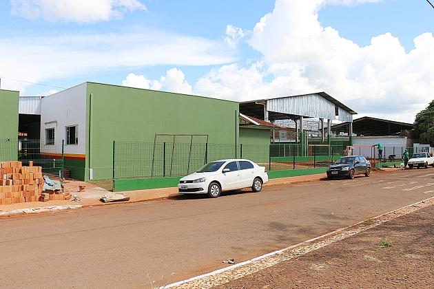 Prefeitura deve entregar obra de reforma e ampliação da escola Porfiria no dia 17