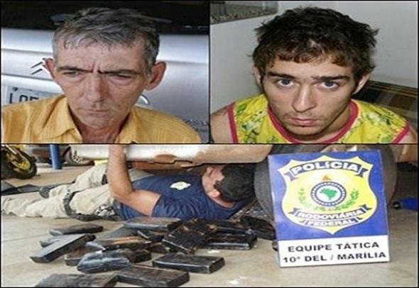 Traficantes de Deodápolis são presos transportando cocaína