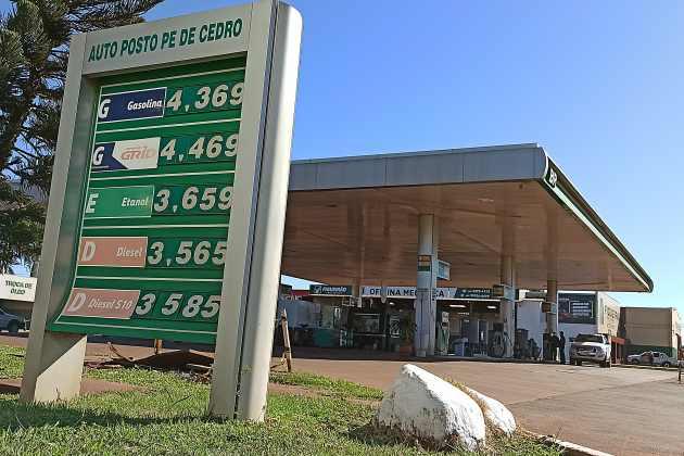 Em 60 dias, preço da gasolina em Sidrolândia teve redução acumulada de 13,32%