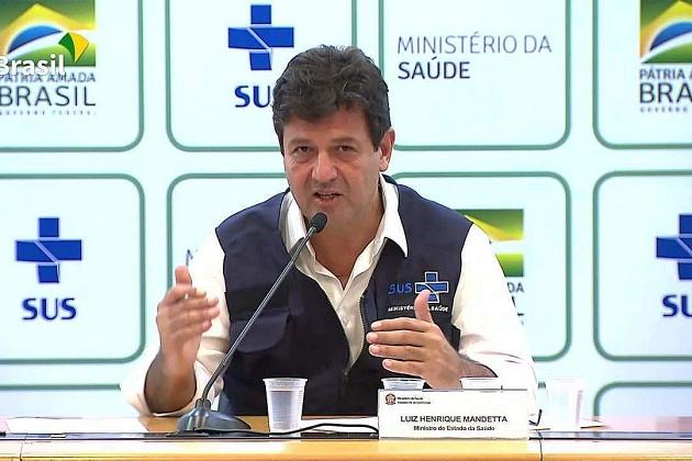 Brasil tem 1.546 casos confirmados de novo coronavírus, diz ministério