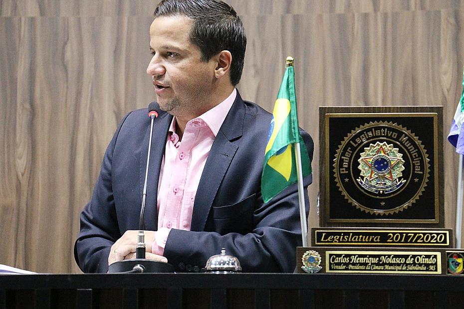Carlos Henrique encaminha requerimento solicitando cópias de balancetes e contratos do Previlândia