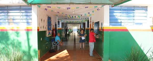 Ladrão invade loja de assistência e furta televisão da Escola Olinda