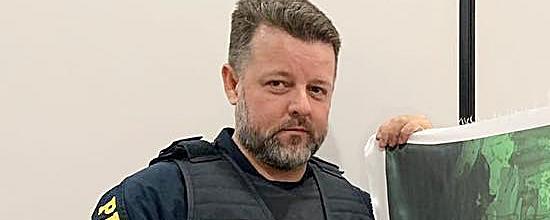 Missa de sétimo dia do policial rodoviário Vladimir Struck será realizada nesta quarta
