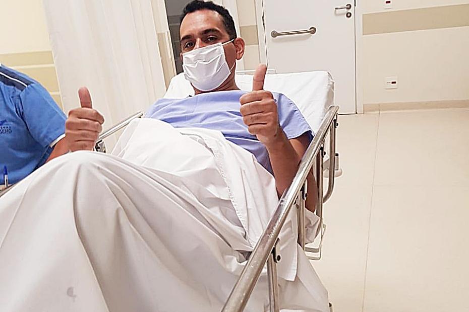 Vereador Jean Nazareth passa por cirurgia para retirada de cálculo renal
