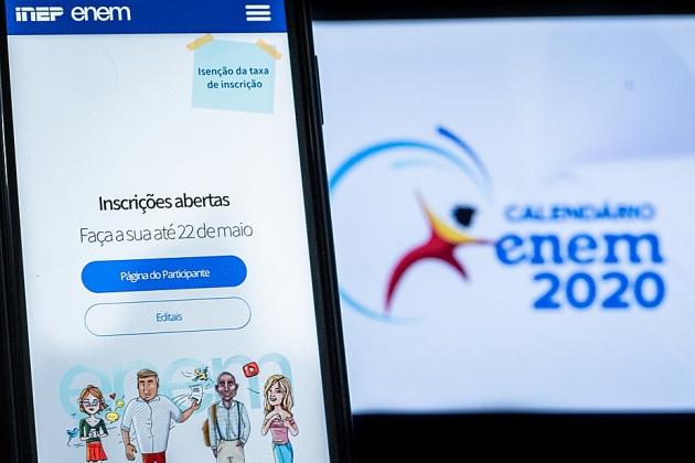 Inep abre enquete do Enem 2020 para candidatos escolherem data da prova; estudantes relatam problemas para votar