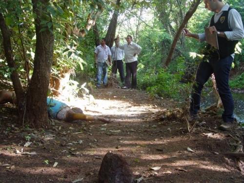 Identificada mulher morta a pedradas, em Dourados
