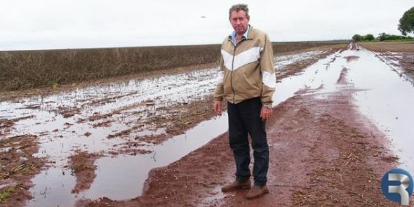 Excesso de chuva poderá contabilizar prejuízo histórico a produtores de Sidrolândia