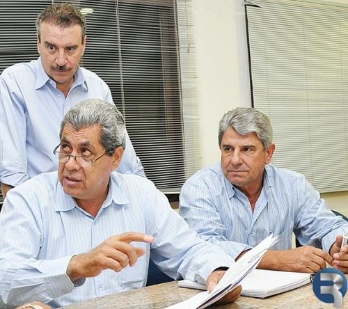 Daltro Fiuza isola vereadores em reunião com André Puccinelli