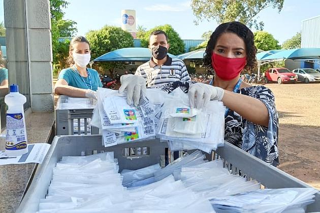 Tip Top inicia distribuição gratuita de 8.600 máscaras e desde fevereiro só passou a produzir o acessório