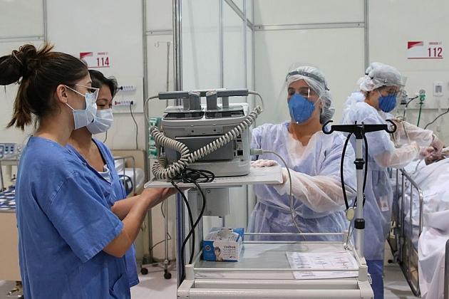 Levantamento aponta morte de 98 enfermeiros por covid-19 em um mês