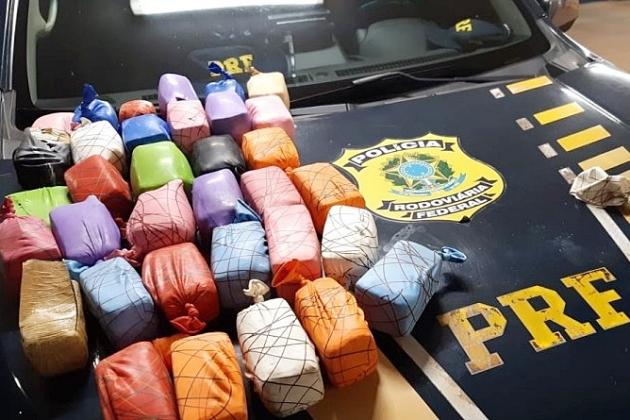 Justiça decreta prisão de trio que queria levar 25 kg de haxixe para Brasília