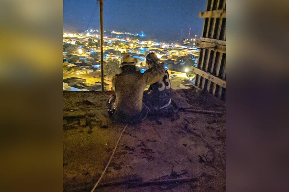 Bombeiros convencem adolescente a não pular de edifício no centro de Sidrolândia