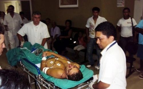 Jovem de 19 anos é atingido com tiro no rosto por primo em Coxim