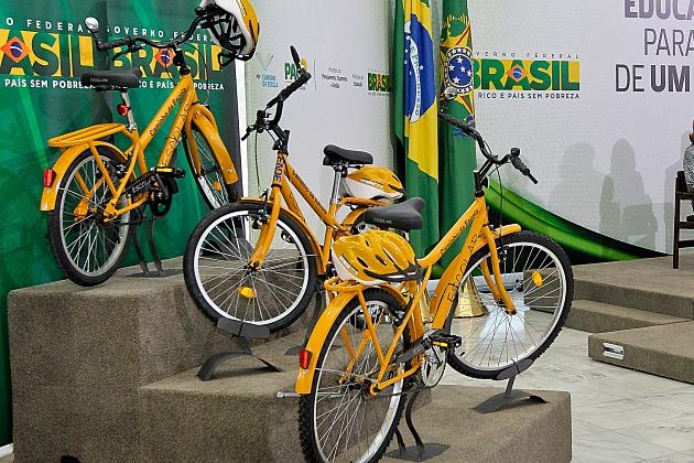 MEC comprará mais de 7 mil bicicletas para uso de estudantes