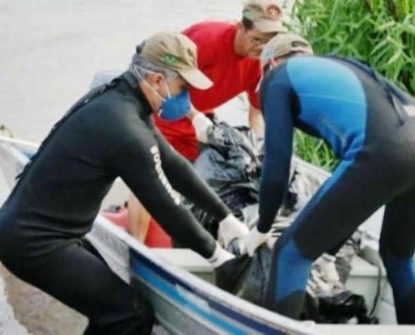 Bombeiros localizam corpo de jovem que se afogou no rio Amambaí