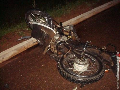 Acidente entre moto e Celta deixa 3 mortos em Três Lagoas
