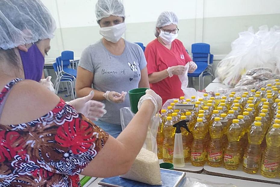 Escolas estaduais começam nesta 2ª-feira entrega de kits de alimentos para alunos