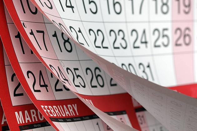 Governo divulga calendário anual de feriados e pontos facultativos nas repartições