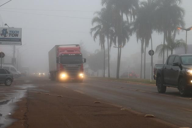 Sidrolândia volta amanhecer com neblina e temperatura deve chegar aos 5° no final de semana