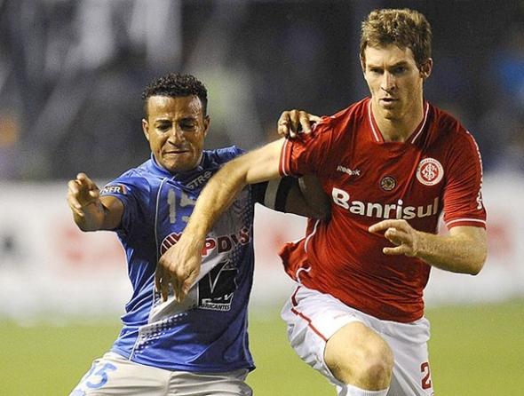 Inter, muito mal, perde a primeira na Libertadores: 1 a 0 para o Jaguares