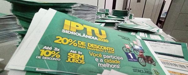 Prorrogação garante incremento de R$ 540 mil na arrecadação do IPTU/2020