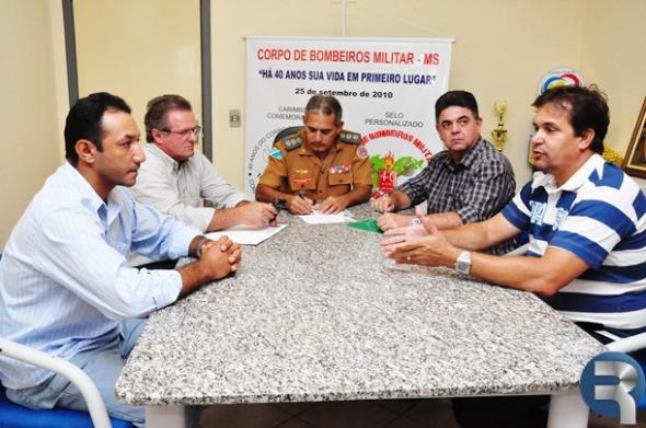 Parceria pode garantir brigada de incêndio em Sidrolândia