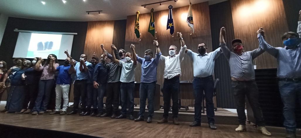 Patriota confirma Moacyr e Ocampos para disputar a prefeitura em convenção