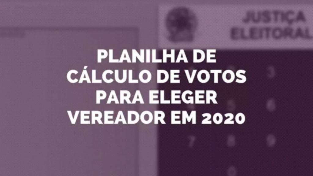 Como calcular os votos para eleição de vereador 2020