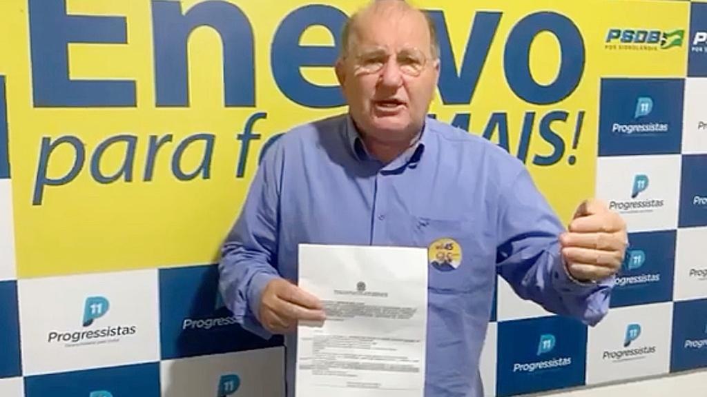 Enelvo é o primeiro candidato a prefeito com registro deferido pela Justiça Eleitoral