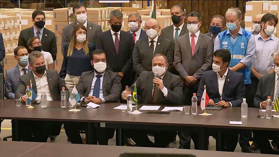 Pazuello diz que vacinação contra a Covid-19 no país começa hoje