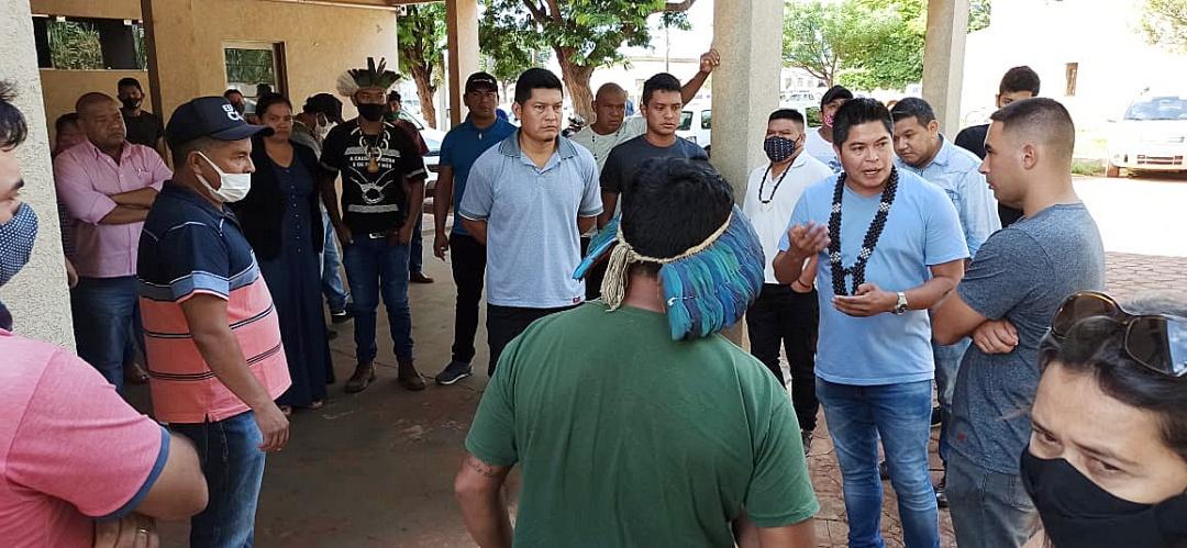 Prefeita receberá nesta terça-feira comissão de indígenas que cobram contratação de 2 técnicos de enfermagem