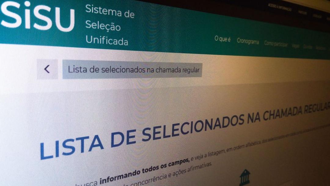 Edital para adesão de universidade ao 1º Sisu é publicado