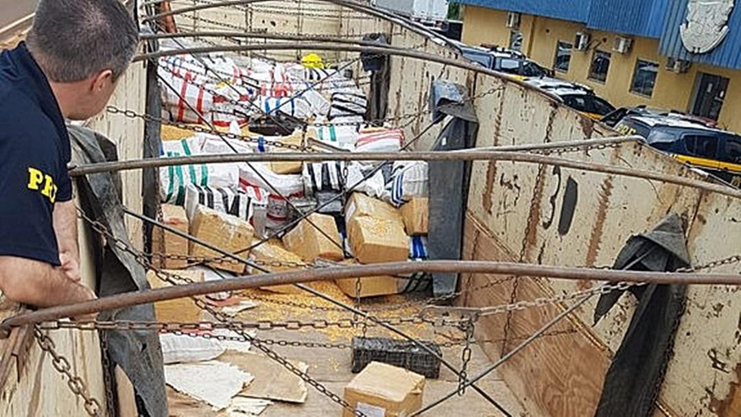 PRF apreende mais de 9,5 toneladas de maconha em Dourados