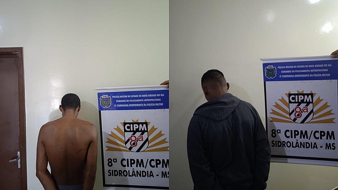 Em 48 horas, três foragidos da Justiça são presos pela PM em Sidrolândia
