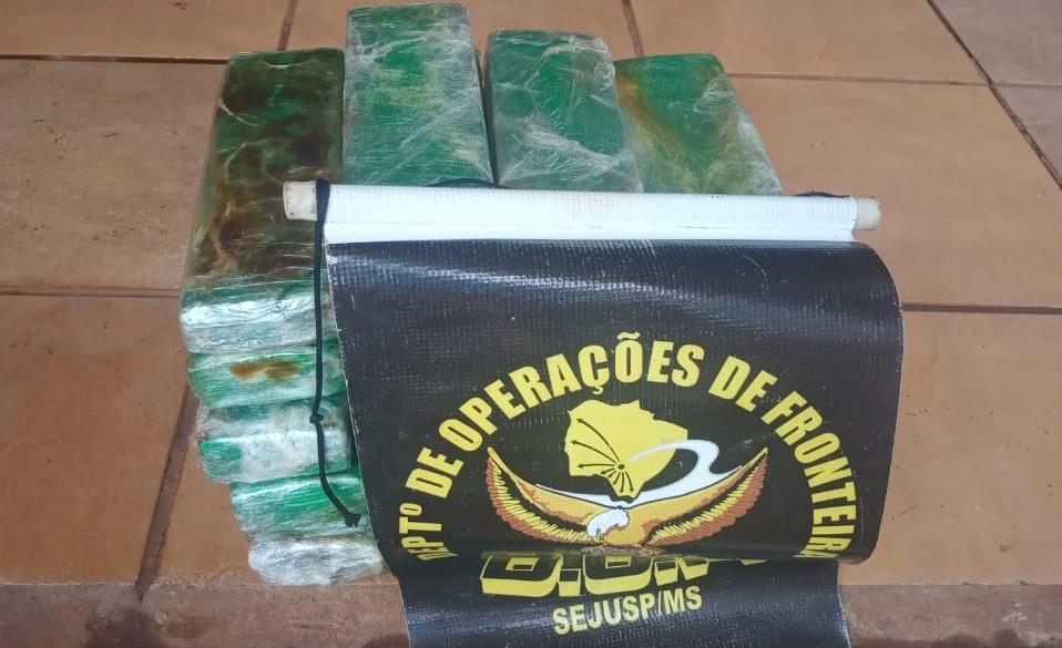 DOF apreende adolescentes com 20kg de maconha na MS-162 em Sidrolândia