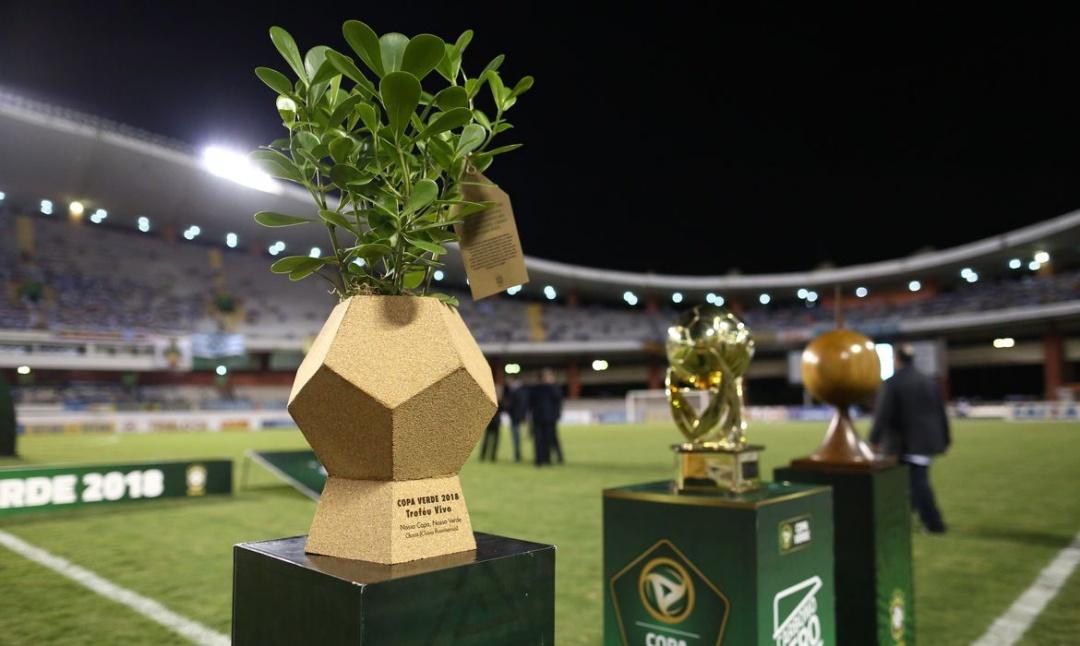 Troféu vivo e carbono zero: a vertente sustentável da Copa Verde