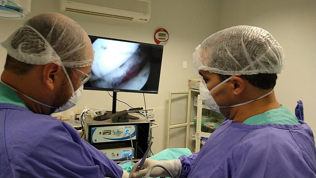 No 1º mutirão,12 pacientes fazem cirurgias ortopédicas