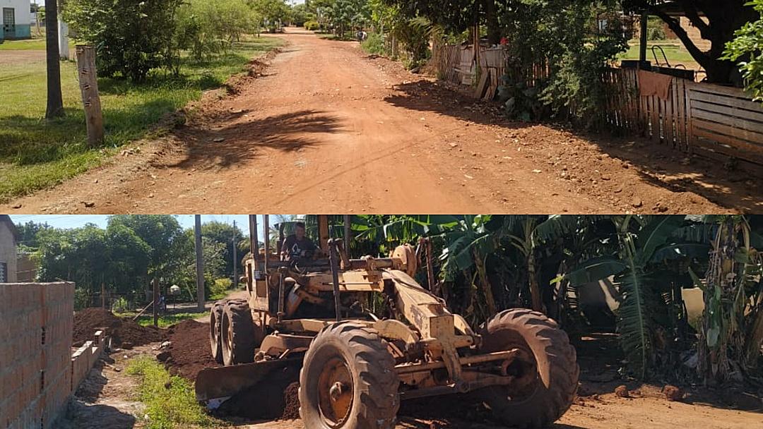 Aldeia Tereré recebe da Prefeitura reparos em ruas e ganha 29 lixeiras comunitárias
