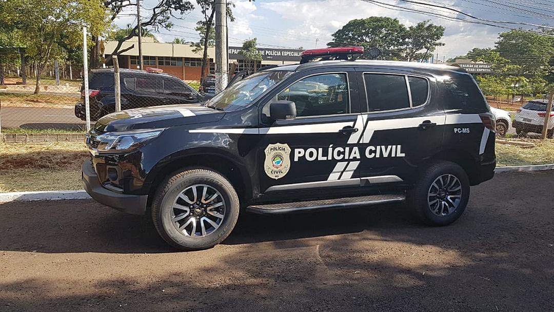 Nova viatura é entregue para compor frota da Polícia Civil em Sidrolândia