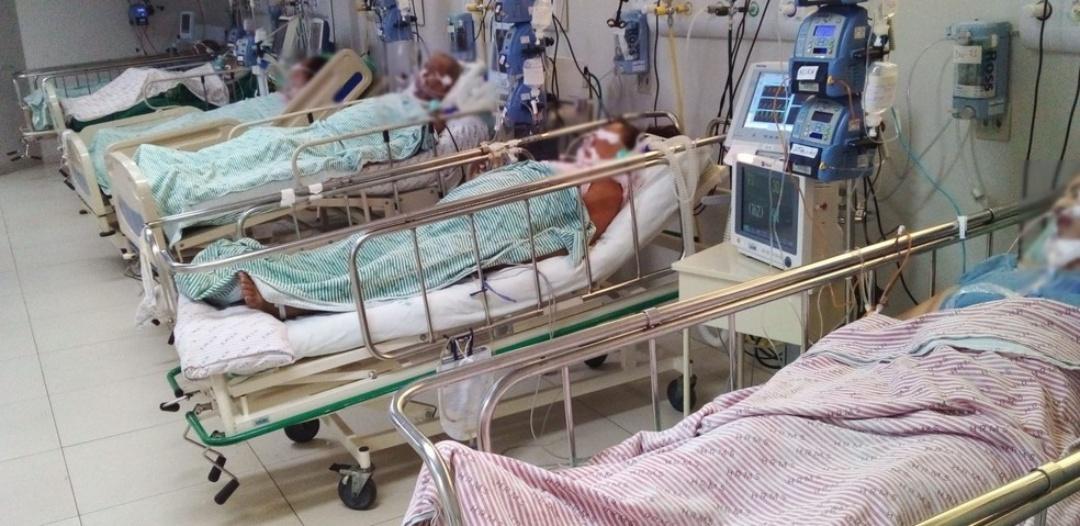 Em 20 dias, número de internações hospitalares por Covid-19 em MS cresce 22%