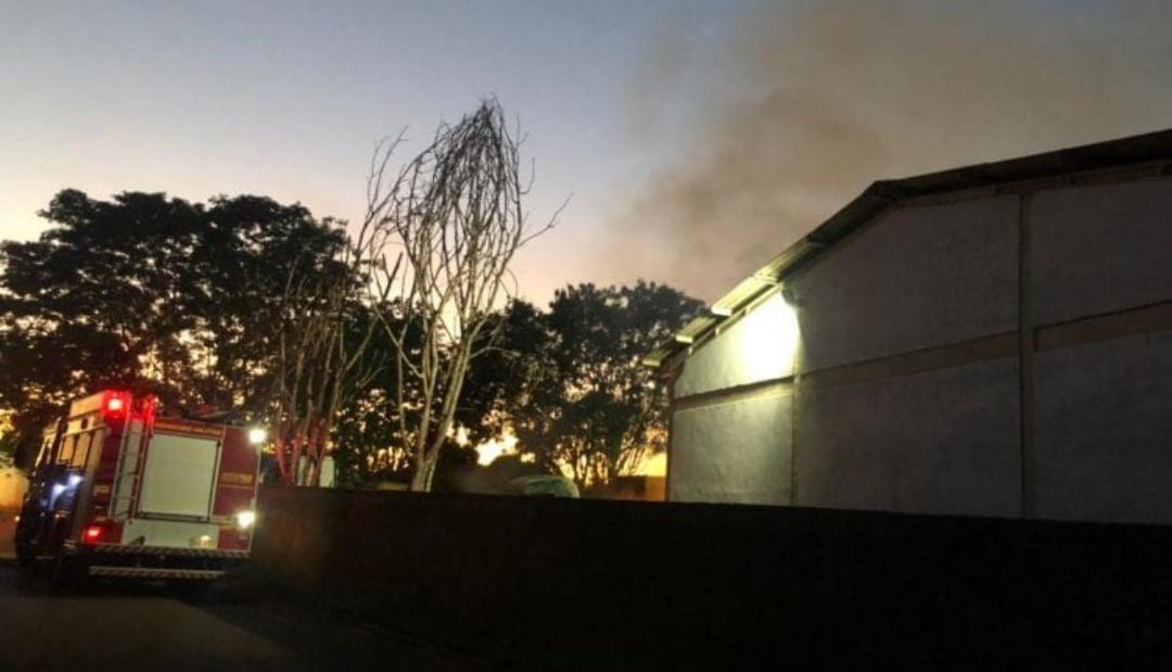 Adolescente invade pátio de delegacia para furtar e incendeia veículos em MS