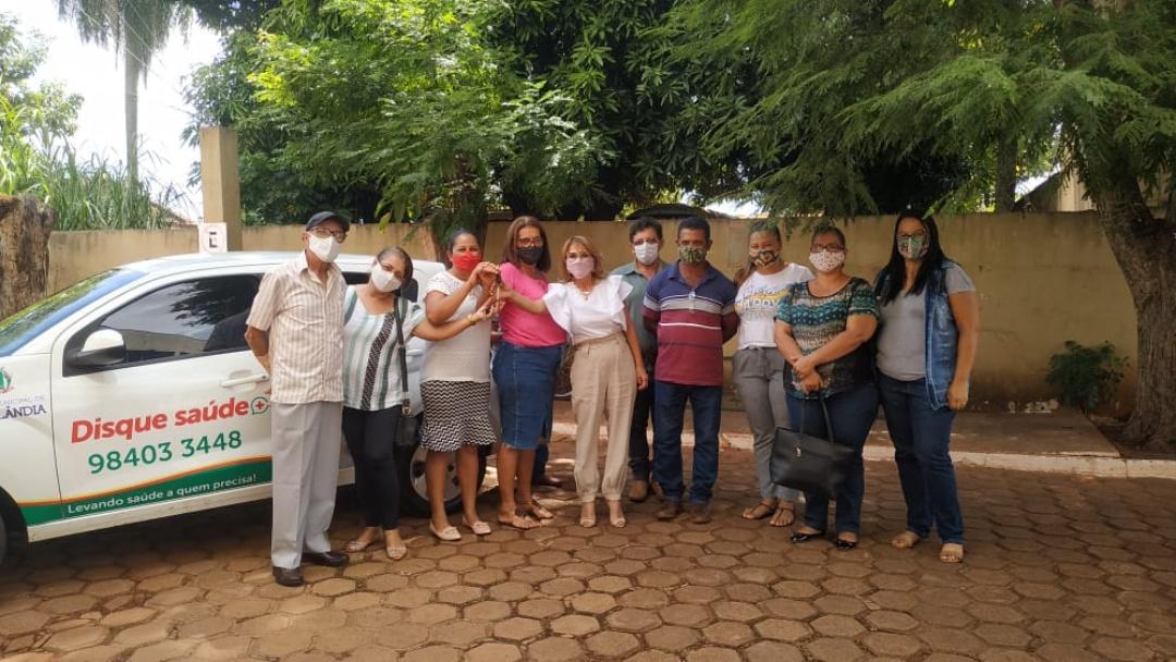 Assentamento Eldorado recebe veículo de apoio para a Saúde