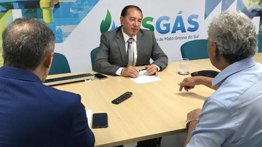 Para Gerson chegada do gás natural vai incrementar industrialização de Sidrolândia
