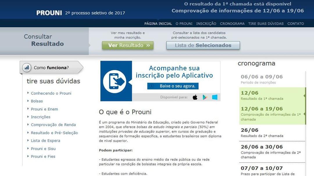 Bolsa Permanência do Prouni será paga a partir desta quarta