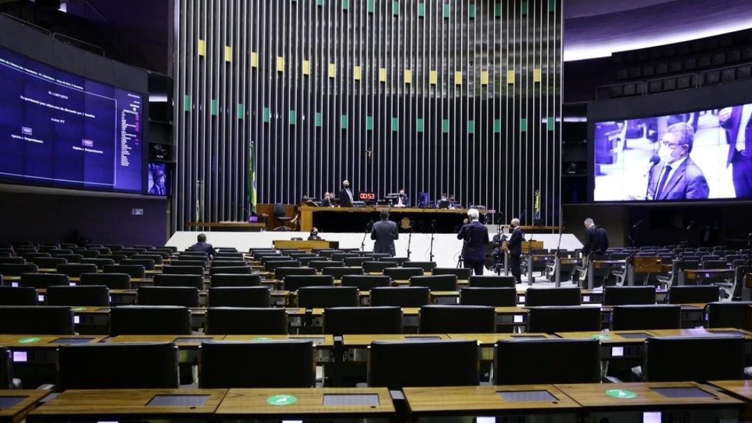 Senado voltará a regime virtual, mas Câmara segue com sessões 'híbridas'