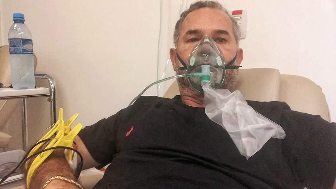 Moacyr Almeida é intubado no hospital da Unimed em Campo Grande