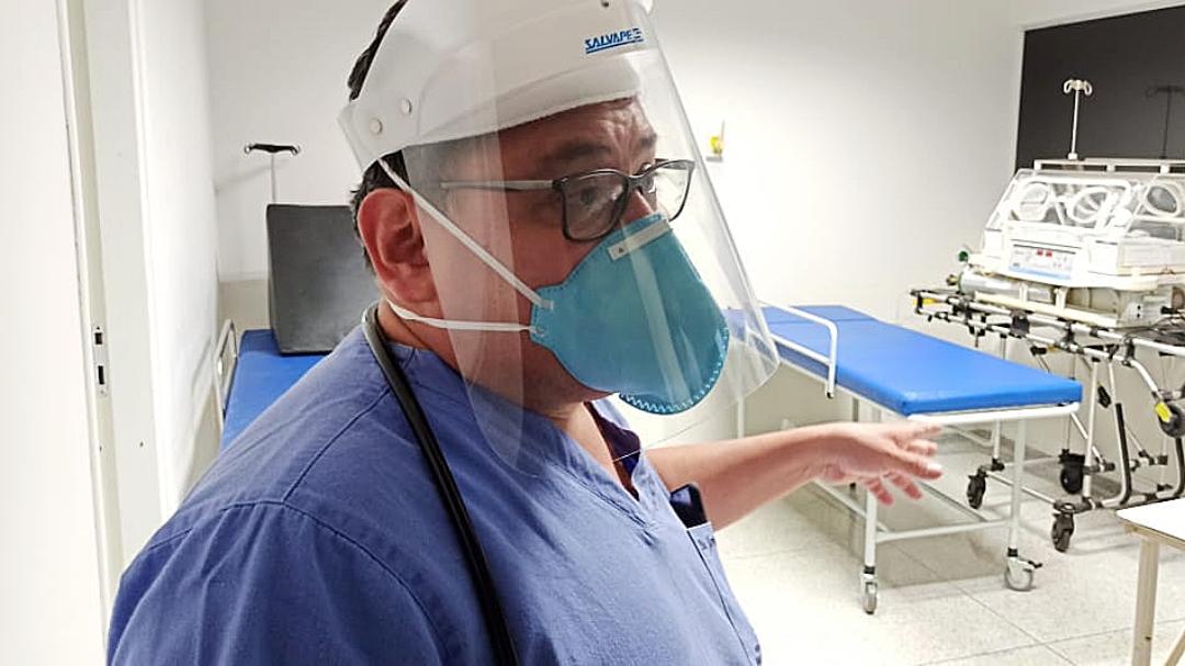 Com 80% do pulmão comprometido, diretor técnico do hospital está intubado