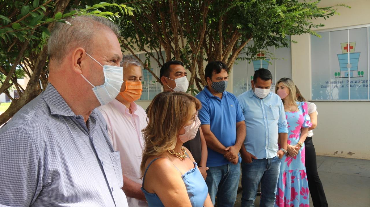 Secretário Geraldo Resende participa neste sábado do lançamento de nova etapa da vacinação em Sidrolândia