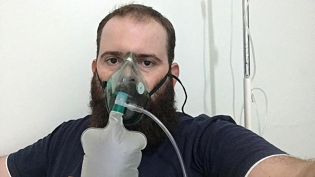 'A Covid-19 é real', diz em tom de alerta Danilo Cazarin, que não acreditava na doença
